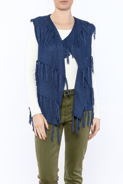 Marble Blue Sweater Vest - Product List Image