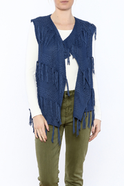 Marble Blue Sweater Vest - Product Mini Image
