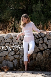 Marble Light Pink Sweater - Product Mini Image