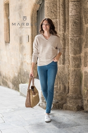 Marble Multi Textural Sweater - Product Mini Image