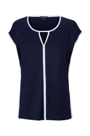 Marble Navy/white Top - Product Mini Image