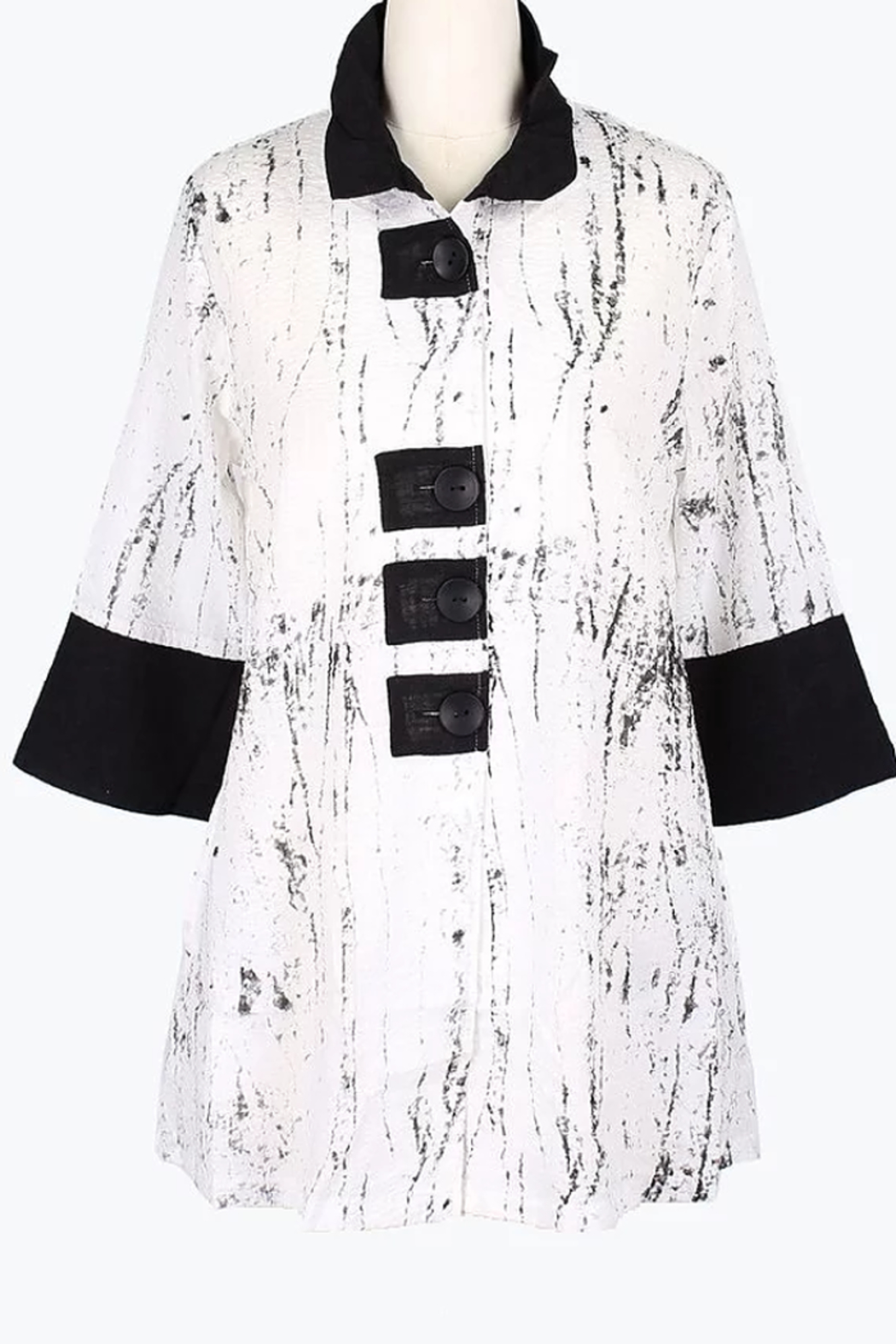 Damee Marble Patch Jacket - Main Image