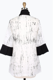 Damee Marble Patch Jacket - Front full body