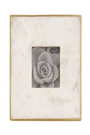 Mud Pie Marble Picture Frame - Product Mini Image
