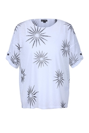 Marble Two-Piece Starburst Top - Product Mini Image