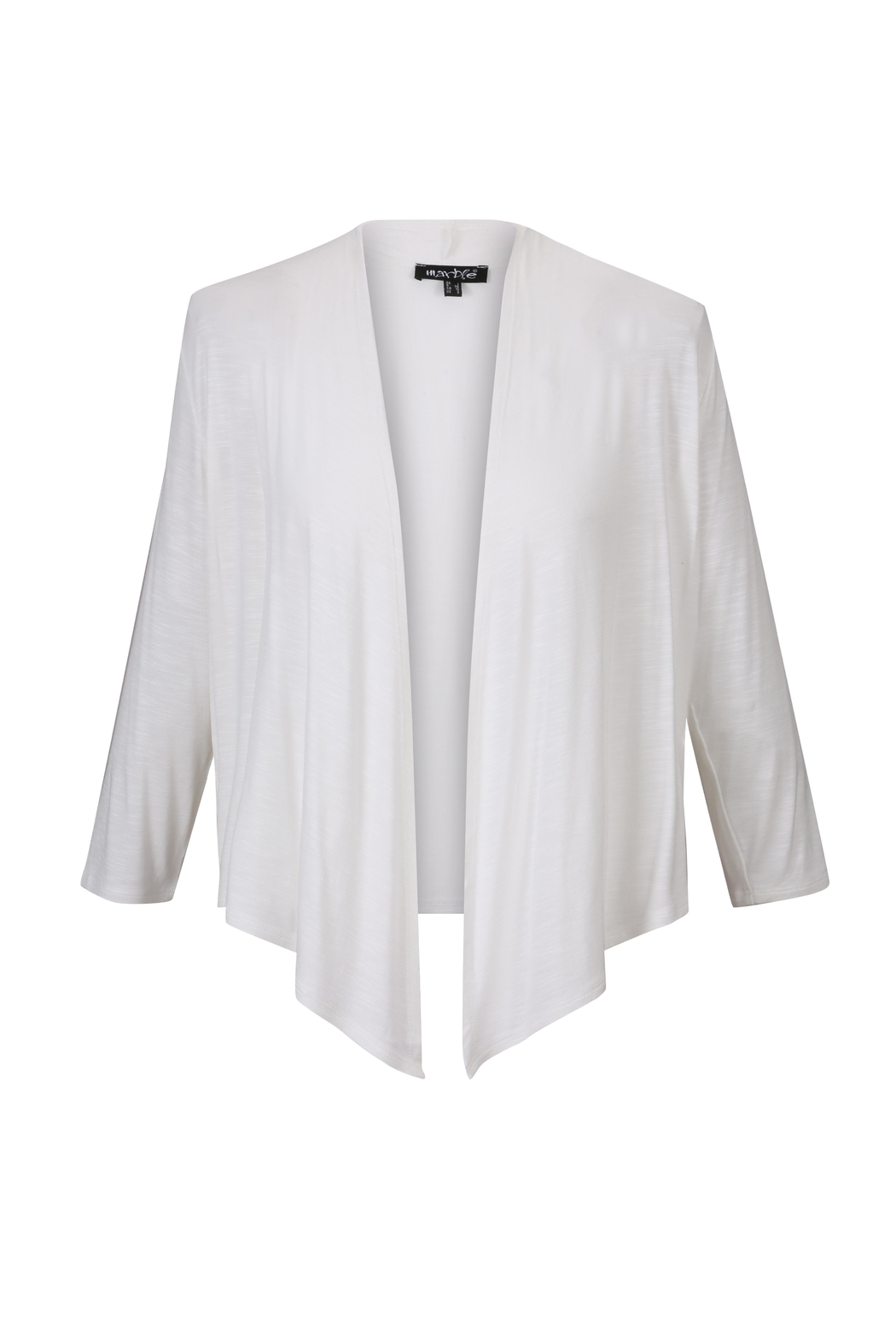 Marble White Knit Cardi - Front Full Image