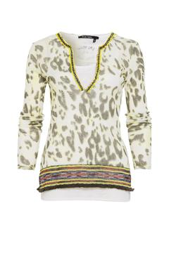 Shoptiques Product: Olive Printed Top