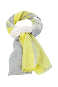 Shoptiques Product: Yellow Grey Scarf