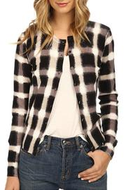 Marc By Marc Jacobs Blurred Plaid Cardigan - Product Mini Image