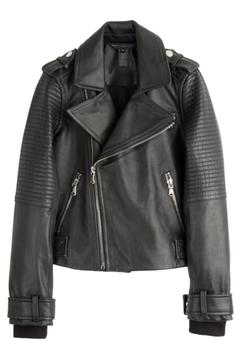 Marc By Marc Jacobs Moto Leather Jacket - Product List Image