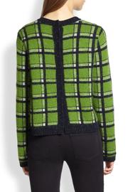 Marc By Marc Jacobs Prudence Snap Back Sweater - Front full body