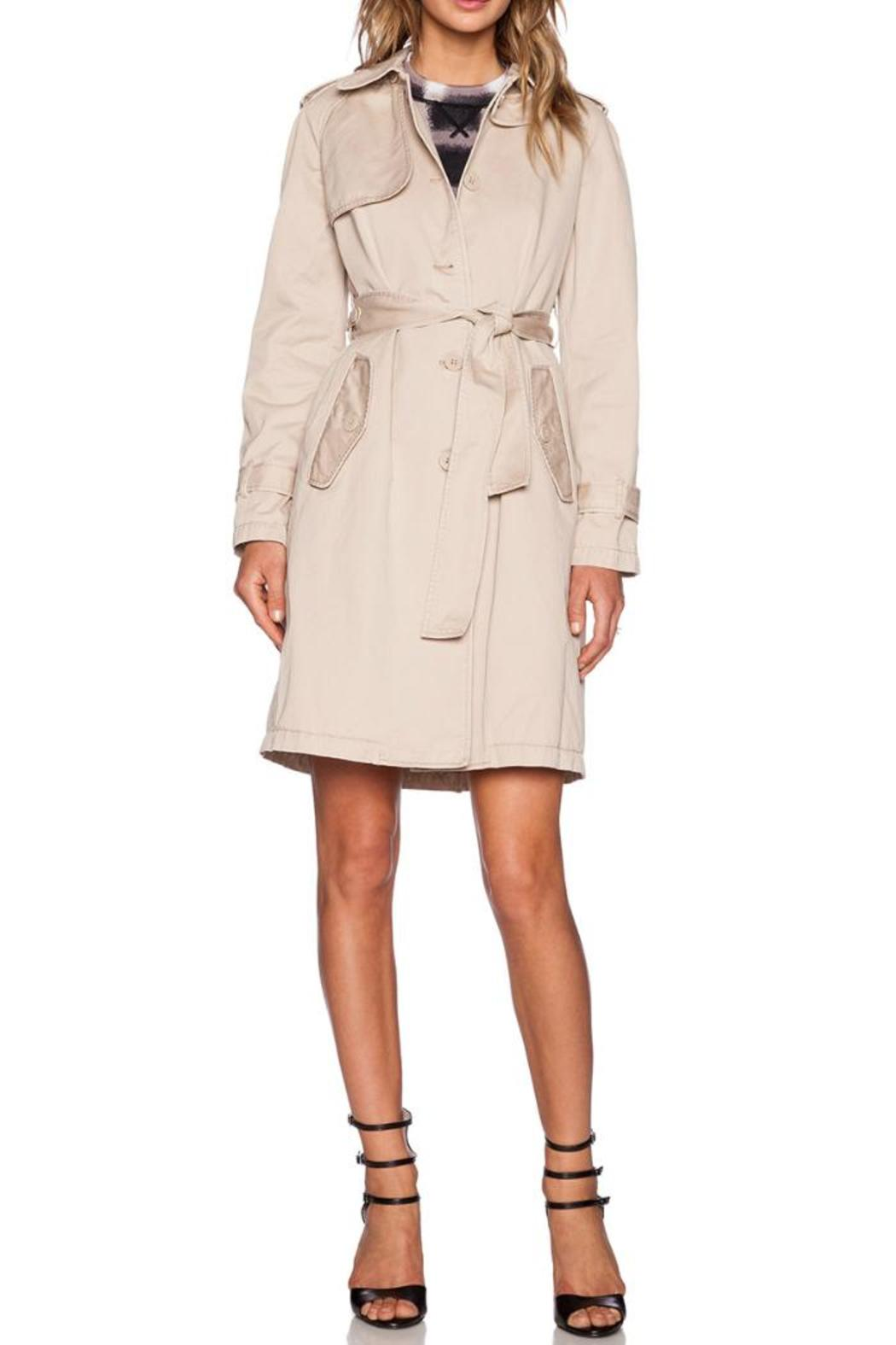 Marc By Marc Jacobs Slim Trench Coat - Main Image