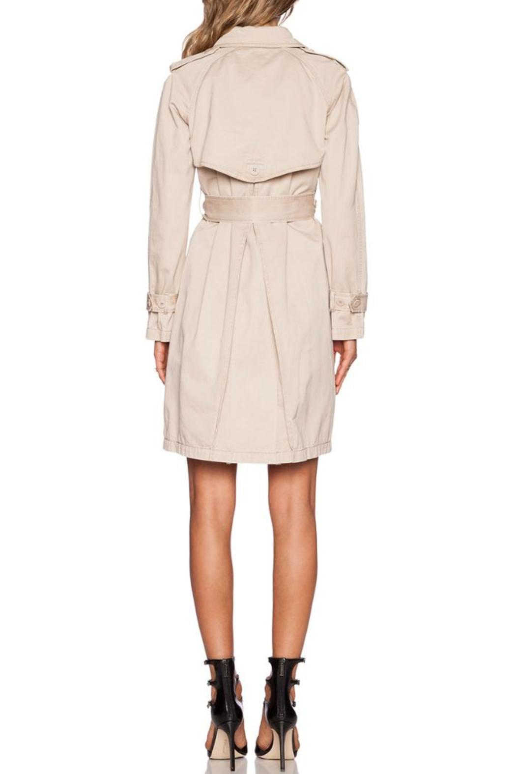 Marc By Marc Jacobs Slim Trench Coat - Front Full Image