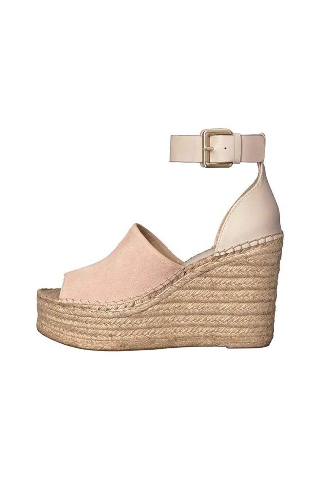 Marc Fisher LTD Adalyn Suede Wedge - Front Full Image