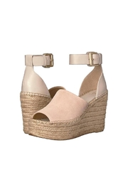 Marc Fisher LTD Adalyn Suede Wedge - Front cropped