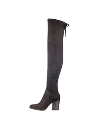 Marc Fisher LTD Adora Black Boots - Front cropped