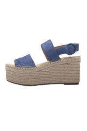 Marc Fisher LTD Blue Espadrille Wedge - Product Mini Image
