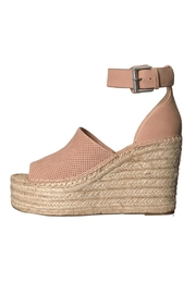 Marc Fisher LTD Natural Perforated Wedge - Product Mini Image