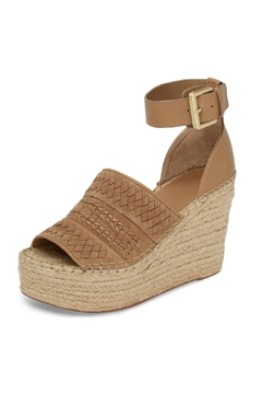 Marc Fisher LTD Tan Espadrille Wedge - Alternate List Image
