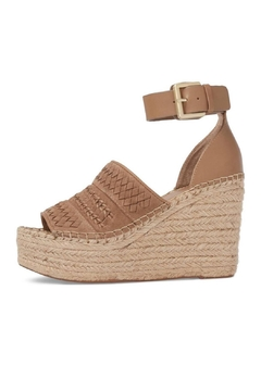 Marc Fisher LTD Tan Espadrille Wedge - Product List Image