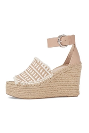 Marc Fisher LTD Tan Straw Wedge - Product Mini Image
