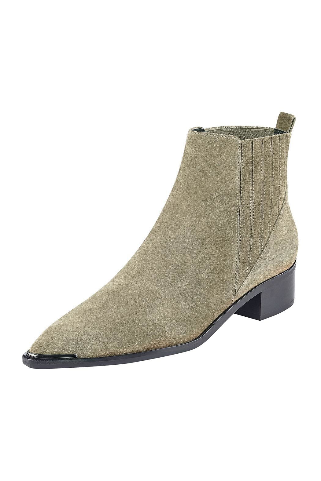 Marc Fisher LTD Yommi Taupe Booties - Main Image