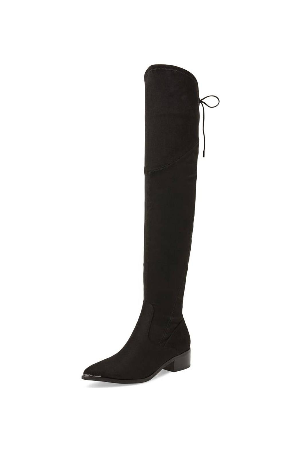Marc Fisher LTD Yuna Black Boot - Front Cropped Image