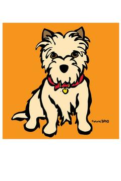 Marc Tetro  Carin Terrier Art - Product List Image
