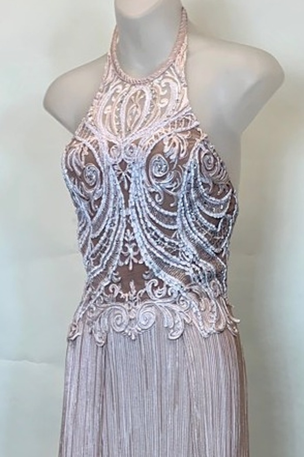 BACCIO COUTURE MARCELLA GOWN - Front Full Image