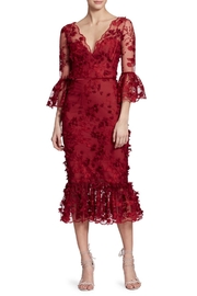 Marchesa 3/4 Sleeve Dress - Product Mini Image