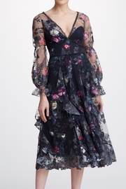 Marchesa Bishop Sleeve Dress - Product Mini Image