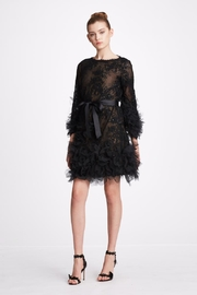 Marchesa Embroidered Corded-Lace Dress - Product Mini Image