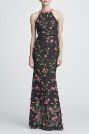 Marchesa Embroidered Lace Gown - Product Mini Image