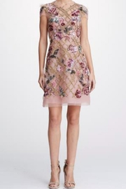 Marchesa Embroidered Tulle Dress - Product Mini Image