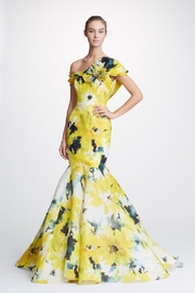 Marchesa Floral Off-Shoulder Gown - Product Mini Image