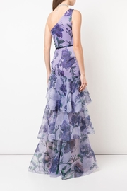 Marchesa Floral Organza Gown - Front full body