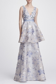 Marchesa Floral Tiered Gown - Product Mini Image
