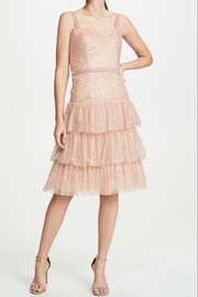 Marchesa Glitter Tulle Dress - Product Mini Image