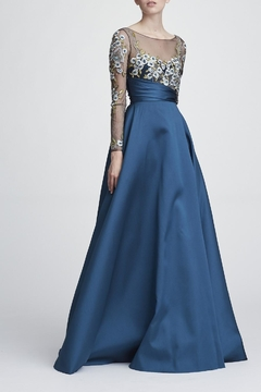 Marchesa Long Sleeve Gown - Product List Image