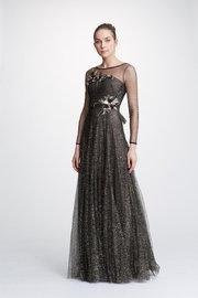 Marchesa Long-Sleeve Tulle Gown - Product Mini Image