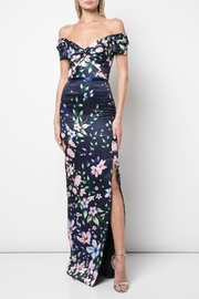 Marchesa Off-Shoulder Mikado Gown - Product Mini Image
