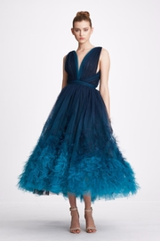 Marchesa Ombre Tulle Dress - Product Mini Image