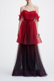 Marchesa Ombre Tulle Gown - Product Mini Image
