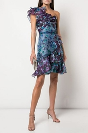 Marchesa One-Shoulder Organza Dress - Product Mini Image