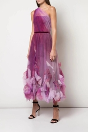 Marchesa One-Shoulder Tulle Dress - Front cropped