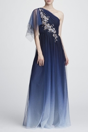 Marchesa One-Shoulder Tulle Gown - Product Mini Image