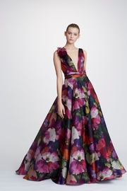 Marchesa Organza Ball Gown - Product Mini Image