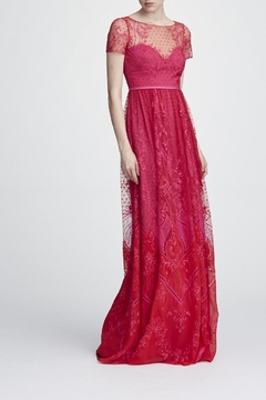 Marchesa Short Sleeve Gown - Product List Image