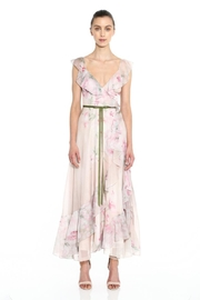 Marchesa Sleeveless Chiffon Dress - Front cropped