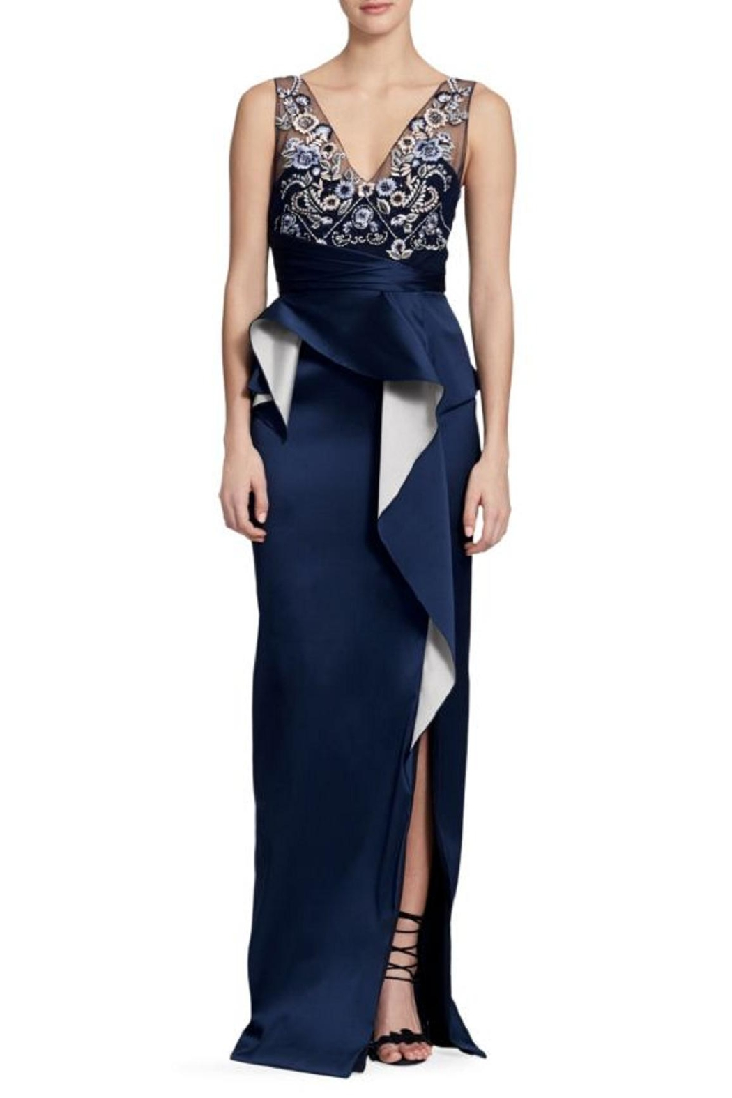 Marchesa Sleeveless Column Gown from New Jersey by District 5 ...